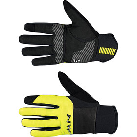 Northwave Power 3 Full Gloves black/yellow fluo